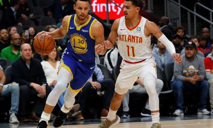 After goading from Shaq, Trae Young says he'll pass Stephen Curry as NBA's best shooter within a year
