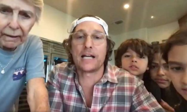 Matthew McConaughey and Family Play Virtual Bingo with Senior Living Home as Residents Self-Isolate