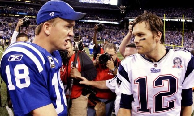 The story of the secret meeting between Tom Brady, Peyton Manning